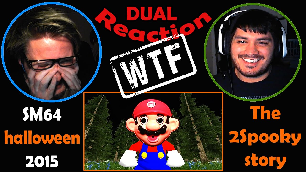 Download SM64 halloween 2015: The 2Spooky story DUAL REACTION! | RIP BRAIN... |