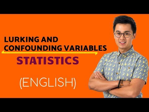 Statistics -  Lurking vs Confounding Variables and Blind Experiments