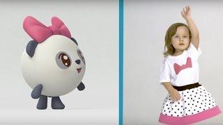 Малышарики - Умные песенки - Разминка - мультфильм для самых маленьких