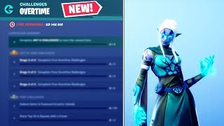 La nouvelle saison 8 OVERTIME CHALLENGES et REWARDS! - Fortnite Bataille Royale