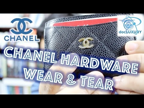 WEAR and TEAR   CHANEL GOLD hardware NIGHTMARE!