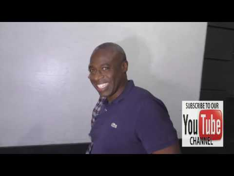 Phill Lewis talks about Suite Life Of Zack and Cody outside Get Lucky For Lupus Poker Tournament at
