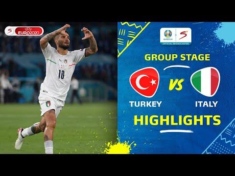 UEFA Euro 2020   Group A   Turkey v Italy   Highlights