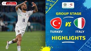UEFA Euro 2020 | Group A | Turkey v Italy | Highlights