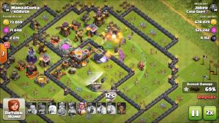 How to farm 4 million loot in 1 hour!| Clash of clans th9/10/11 farming strategy|