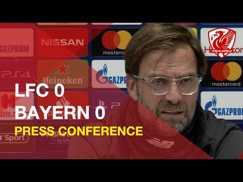Liverpool 0-0 Bayern Munich | Jurgen Klopp Press Conference