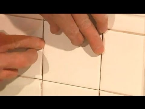 How Do I Repair Tile in a Shower? : Ceramic Tile Repair - YouTube
