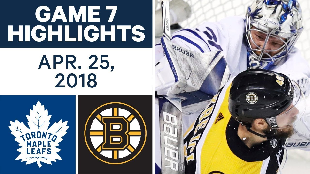 Boston Bruins vs. Toronto Maple Leafs Game 7 Preview: 10 things to know