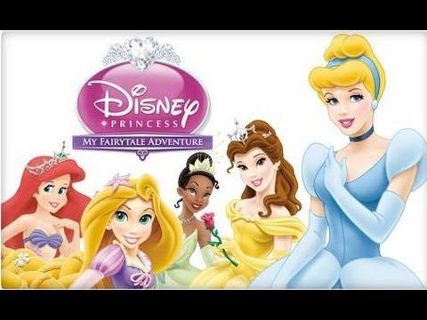 NEW Игры для детей 2015—Disney Принцесса Tangled Рапунцель—Мультик Онлайн видео игры для девочек