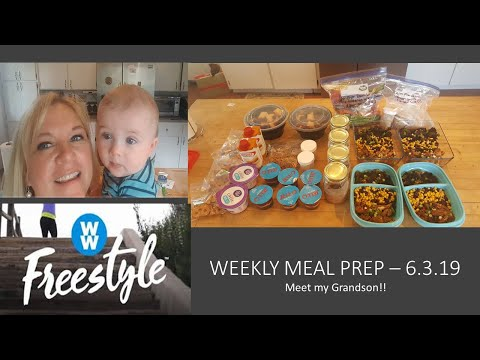 weekly-meal-prep-6.2.19-(dinners,-lunches,-breakfasts,-snacks)-ww-freestyle!-meet-my-grandson!!
