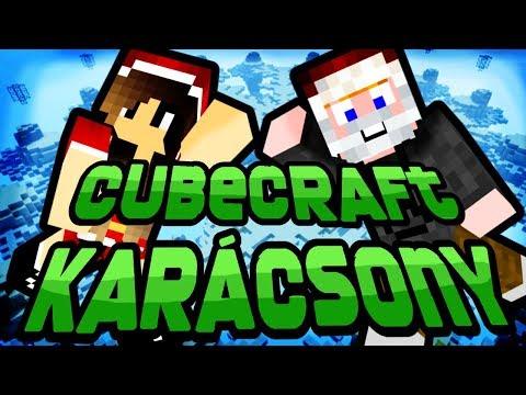 Minecraft - CubeCraft karácsony [OTT A HÓEMBER!]