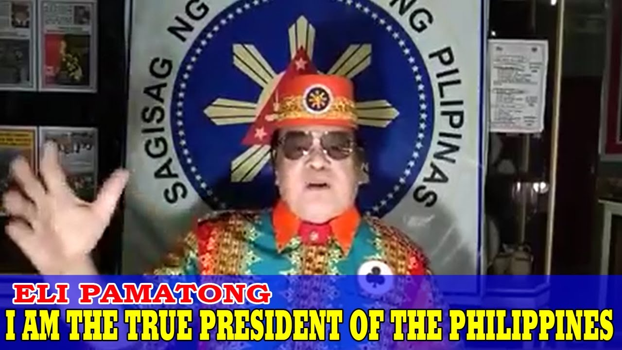 ELI PAMATONG I AM YOUR TRUE PRESIDENT OF THE PHILIPPINES | I ASSUME THE PRESIDENCY