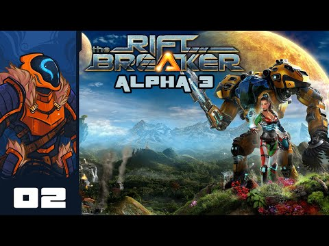 Let's Play The Riftbreaker [Alpha 3] – PC Gameplay Part 2 – Decoy Base Will Not Fall!