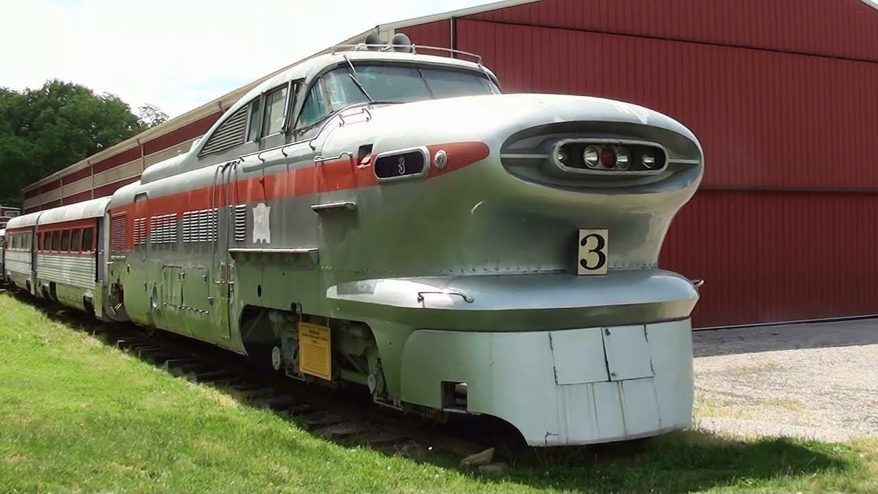 1955 Aerotrain Experimental Train Built by GM - The Museum ...