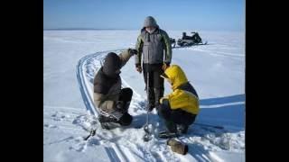 """Рыбалка в Карелии.  """"Онежская сага """".  Зима 2009-2010."""