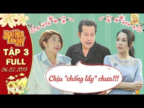 """Phim Tết Ngũ Hợi Tấn Hỷ Tập 3 full:Gái """"ế"""" Dương Cẩm Lynh, Đàm Phương Linh chỉ muốn trốn Tết vì..."""