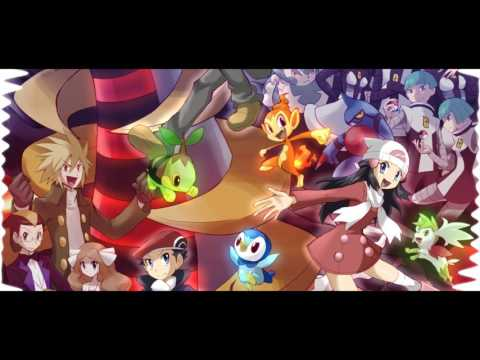 Pokemon Diamond/Pearl/Platinum - Jubilife City Remix