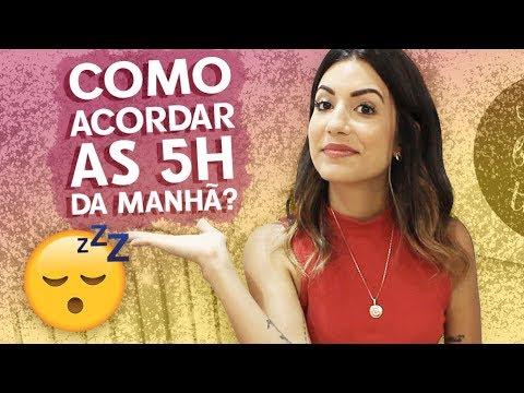QUERO ACORDAR 5H DA MANHÃ TAMBÉM! COMO FAÇO? | Camila Lima