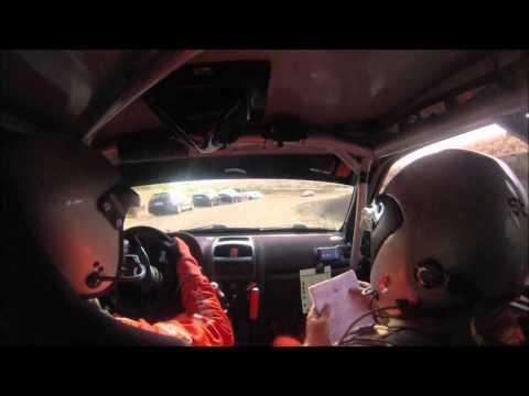 Onboard J.L. Muñoz- E. Ortiz. Renault Clio Sport - Rally de la Vendimia 2015. TC2 Culebrin