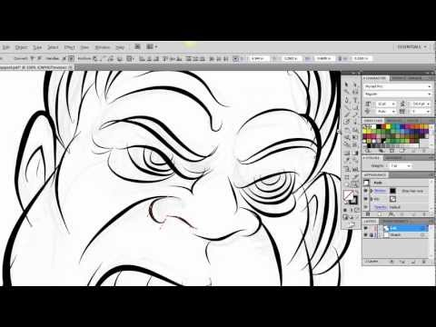 Ultimate Inking and Coloring Tutorial for Adobe Illustrator CS5 (long version)