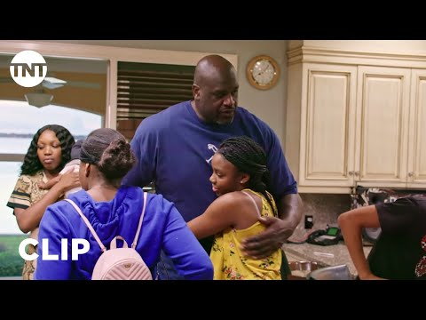 Respect to Shaq for taking care of his family. When his stepfather was dying, he said take care of them and that it is in his(Shaq's) hands now. Shaq takes care of and provides for his family, his brother's and sister's, his mom's family