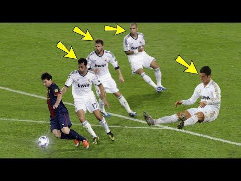 Lionel Messi Destruyendo Jugadores Leyendas - Humillaciones, Caños, Jugadas, Lujos, Goles & Mas