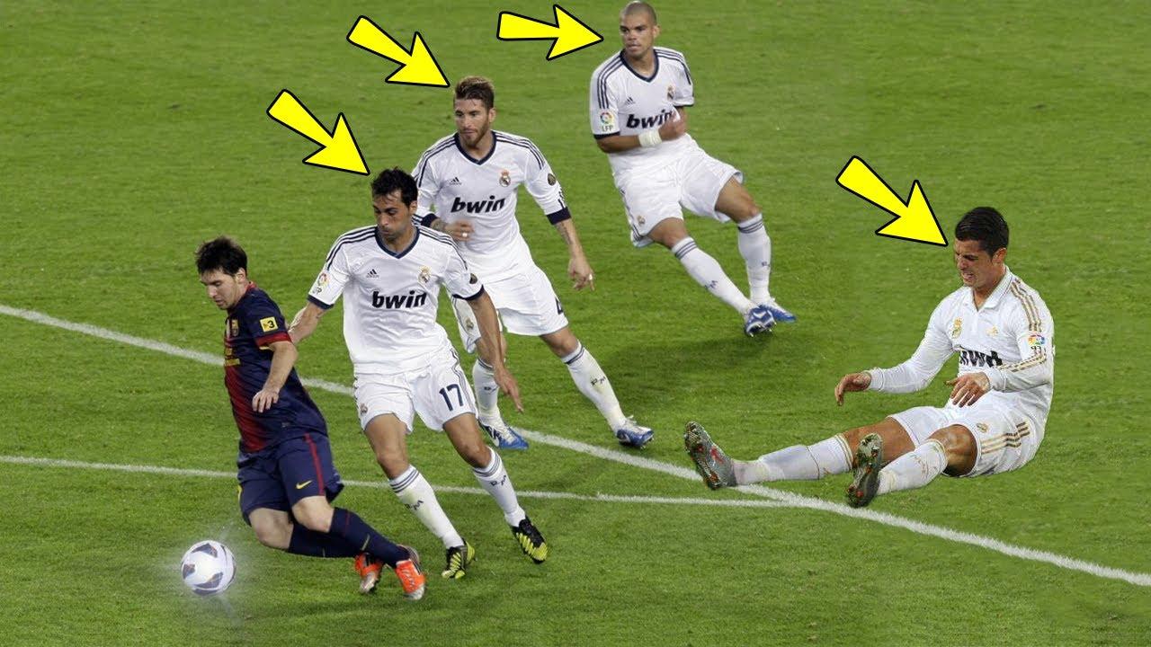 1f5c945c8bf1 Lionel Messi Destruyendo Jugadores Leyendas - Humillaciones, Caños, Jugadas,  Lujos, Goles & Mas