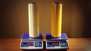 Оценка полезного веса ролика пленки(Многие производители указывают стоимость за вес ролика, а не за килограмм пленки. Поэтому иногда два на..., 2016-08-26T05:45:45.000Z)