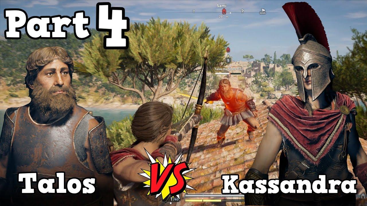 Assassins Creed Odyssey - Odessa + Kassandra FULL Romance