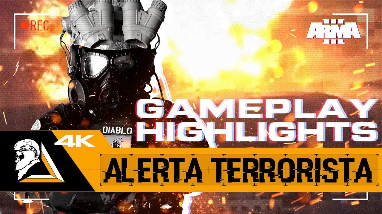 GAMEPLAY HIGHLIGHTS ARMA3 - OPERACIÓN ALERTA TERRORISTA - DEVGRU - SQUAD ALPHA - DIABLO HELMETCAM