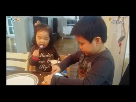 1N2D Cha Taehyun's children made sandwiches for him