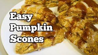 Easy Pumpkin Scones