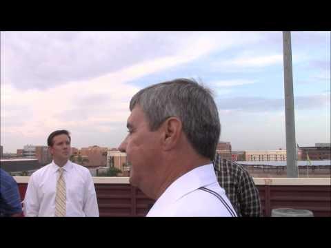 Hunt Construction Project Manager Scott Owens discusses stadium renovation
