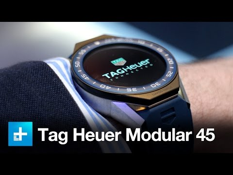 Tag Heuer Connected Modular 45 Smartwatch - Hands On Review