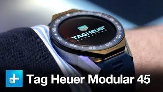 видео Обзор часов Tag Heuer Smartwatch