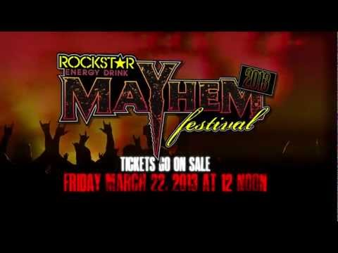 HISTORY OF THE ROCKSTAR ENERGY DRINK MAYHEM FESTIVAL