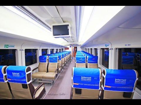 MEWAHNYA Kereta Api Kelas Ekonomi Generasi Terbaru 2016