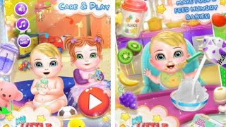 My Little Baby Care Play Android İos Free Game GAMEPLAY VİDEO