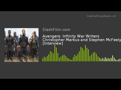 Avengers: Infinity War Writers Christopher Markus and Stephen McFeely [Interview]