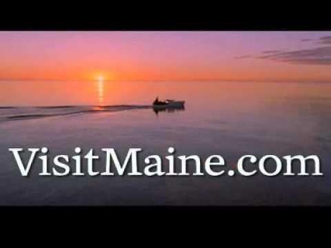 Maine travel destination video