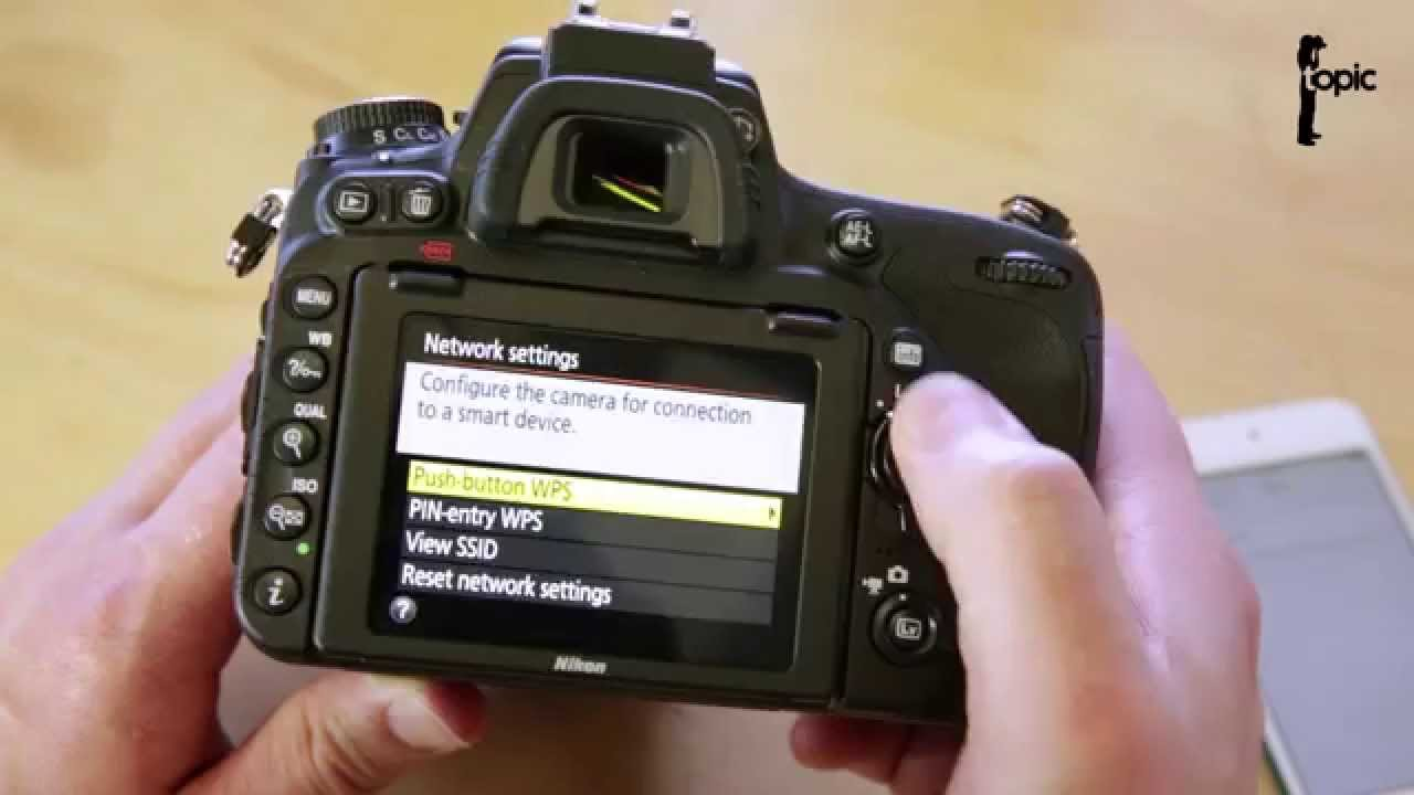 Unsecured WiFi on the Nikon D750 - How to Password Protect Your Images