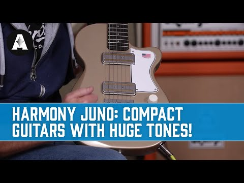 Small Body Guitars Are Back and In a Big Way! - Harmony Juno