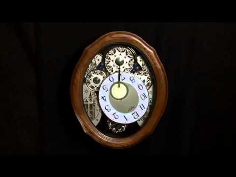 AMERICAN GALA RHYTHM Musical Wall Clock 4MH861WU06