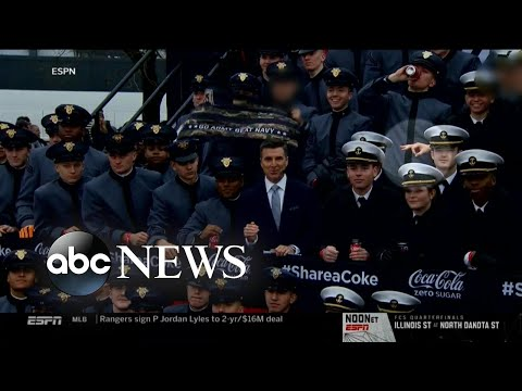 Investigation Into 'white Power' Symbol During Army-Navy Football Game L ABC News