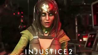 Injustice 2: Enchantress New Intro Dialogue vs Hellboy & Starfire