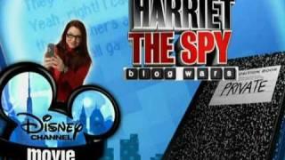 Disney Channel Czech - Promo: Harriet The Spy (Coming Soon)