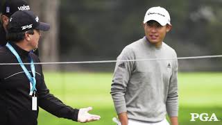 30 Seconds on Coaching with PGA Champion Collin Morikawa