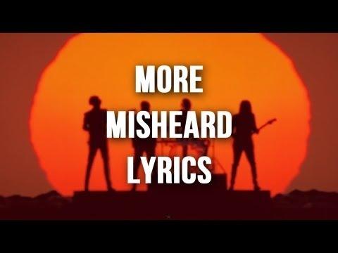 More Misheard Song Lyrics
