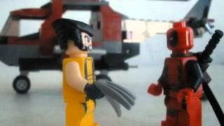 LEGO Wolverine V.S Deadpool