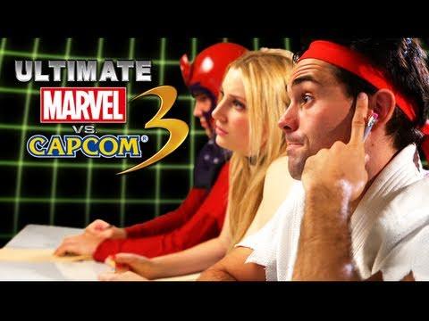 Rejected Ultimate Marvel Vs. Capcom 3 Characters - TGS